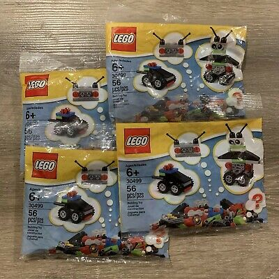 New Lego Set 30499 Creative Polybag Lot of 5 Factory Sealed 56 Pieces