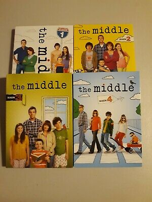 The Middle TV Series ~ Complete Season 1-4 (1 2 3 & 4) CIB Free Shipping DVD