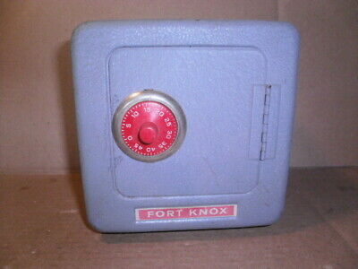Vintage Fort Knox Toy Bank Safe By Superior Toy Mfg.inc.