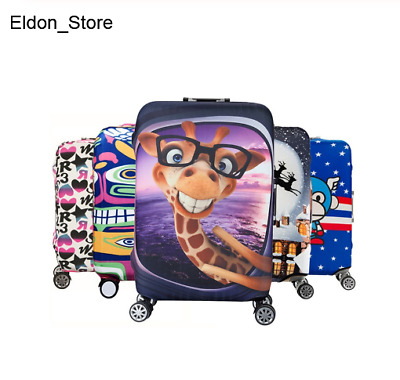 Luggage Protective Cover Suitcase Protect Dust Bag Case Child Cartoon Cover