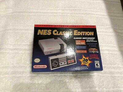 Nintendo NES Classic Mini Edition Modded with 1000 Games Saves all Games USA