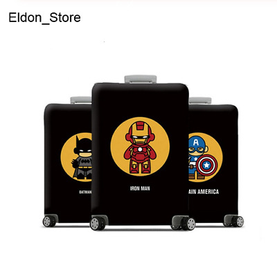 Luggage Protective Cover Suitcase Protect Dust Case Child marvel hero colletion