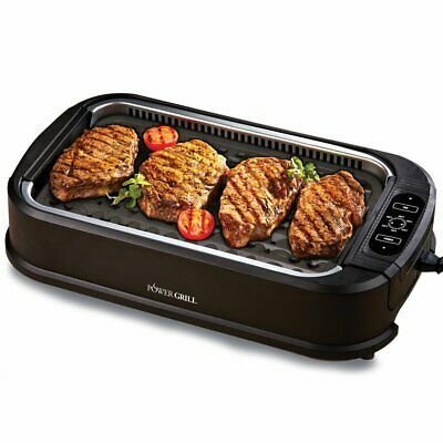 Smokeless Indoor Electric Grill POWER 1500 Watts XL Non-Stick BBQ AS SEEN ON TV