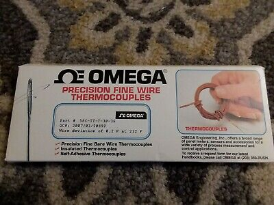 Omega 5SC-TT-T-30-36 Precision Fine Wire Thermocouples set of 5