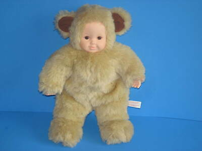 Punctual Vintage No Box! New With Tags Anne Geddes Baby Bear Bean Filled Doll