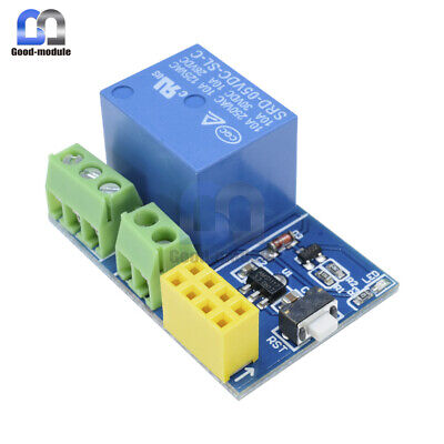 ESP8266 ESP-01/ESP-01S DC 5V WiFi Relay Module Remote Control Switch