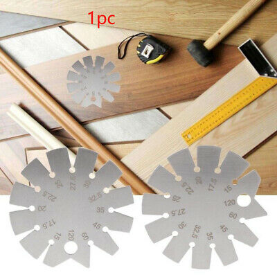 120 Degrees Angle Protractor Bevel Gauge Stainless Steel Woodworking Portable