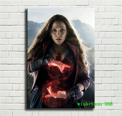 Avengers,Marvel,Scarlet Witch Canvas HD Prints Painting Wall Art Home Decor