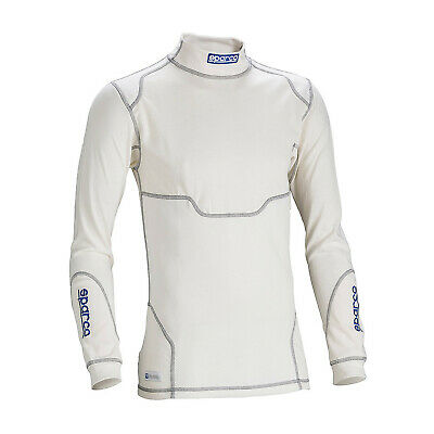 Sparco PRO TECH RW-7 longsleeve top white (with FIA homologation) s. S