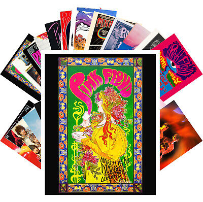 Postcards Pack [24 cards] Pink Floyd Rock Music Vintage Posters Covers CC1252