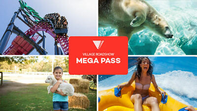 Gold Coast Theme Park Ticket-Best of All Worlds Packages- 5 Parks