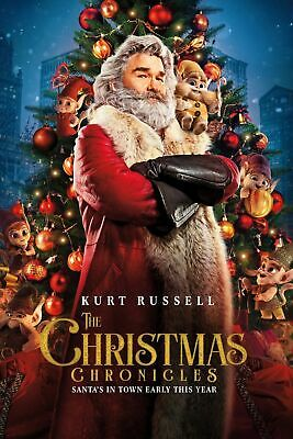 The Christmas Chronicles (DVD) BRAND NEW & SEALED DVD  Region 1 (USA)