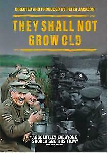 They Shall Not Grow Old (DVD) BRAND NEW & SEALED DVD  Region 1 (USA)