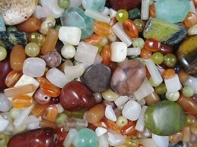 Gemstone Beads Asst Shapes and Sizes 50g Jewellery Design Jewelry FREE POSTAGE