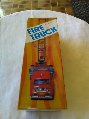 Tin Toy Fire Engine