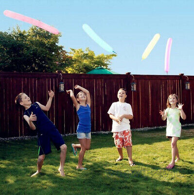 12x Fun Latex Rocket Flying Whistling Balloons Children Kids Party Toy Gift UK