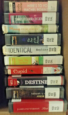 CHRISTIAN AUDIO BOOKS Lot of 10 on CD FREE SHIPPING Unabridged A-5