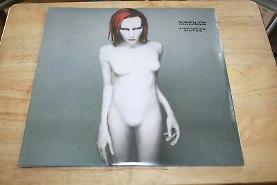 Marylyn Manson - Mechanical Animals - Rare Nothing Records UK 2LP Glam Vinyl TOP