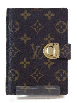 LOUIS VUITTON Agenda Koala PM Notebook Cover Case R21012 Monogram Used Ex++
