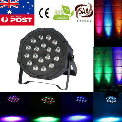 DMX512 Control 6 Channel 18LED RGB Stage Light DJ Disco Party Club Bar Lighting