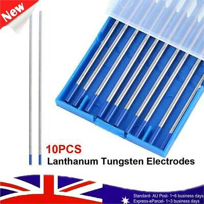 TIG Tungsten Electrodes 10Pcs 2% Lanthanated 1.6 Welding PREMIUM QUALITY