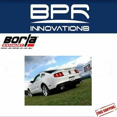 Borla Cat-Back Exhaust ATAK For 11-2014 Ford Mustang 3.7L V6 - 140398