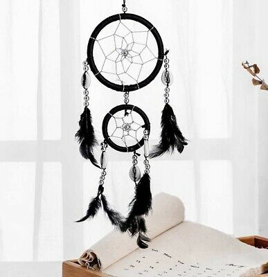 Handmade Dream Catcher with feathers car or wall hanging decoration ornament-13""