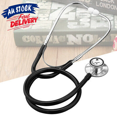 EMT Dual Doctor Eager Tool Vet Medical Monitor Accessory Headed Stethoscope Aid