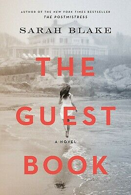 The Guest Book A Novel Hardcover Deckle Edge by Sarah Blake 1st Edition Fiction