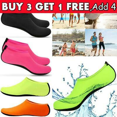 Women Men Water Shoes Aqua Socks Diving Socks Wetsuit Non-slip Swim Beach RO