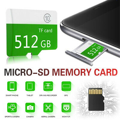 8GB 32GB 64GB Micro SD Card Memory Card Micro-SD Class 10 SD TF RS7