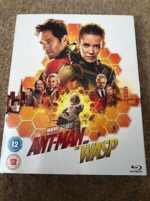 Ant Man And The Wasp Blu-Ray New