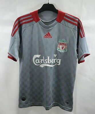 Liverpool Away Football Shirt 2008/09 Adults XS Adidas