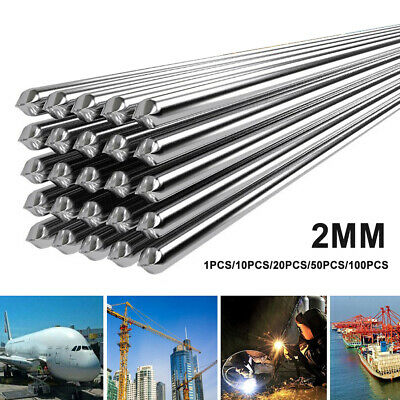 Por 2mm 500mm Low Temperature Aluminum Welding Rod No Need Solder Powder Reliabl
