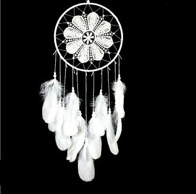 Dream Catcher With Feathers Car Wall Hanging Ornament Gift Decoration Handmade