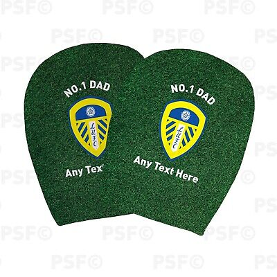 Leeds United FC Official Custom No.1 Dad Father's Day Car Head Rest Cover LHR014
