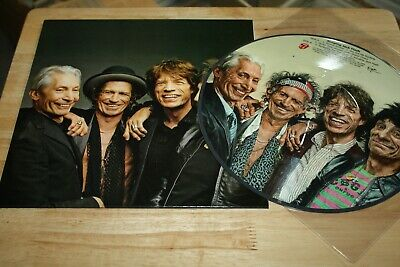 Rolling Stones - Jumping Jack Flash - Rare Stones Fan Club Canada Picture Disc