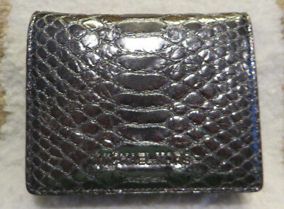 90b9323bffaa61 MICHAEL KORS MONEY Pieces Credit Card Holder Lt Pewter Embossed ...
