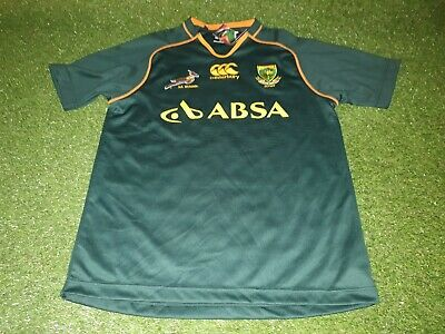 91da65b163c south africa rugby union football springboks african large mans bnwt new  jersey