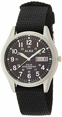 ALBA Wrist Watch Solar Hard Rex 10 Water Pressure AEFD557
