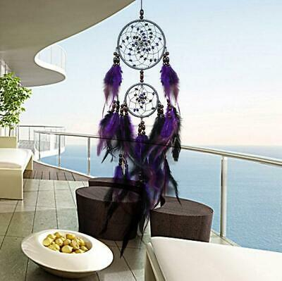 Handmade Dream Catcher Net With feathers Wall Car Hanging Decoration Decor Craft