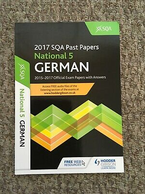 2017 National 5 German Past Papers Hodder Gibson SQA