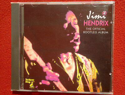 JIMI HENDRIX The Official Bootleg Album CD YELLOW DOGS Luxembourg 1994