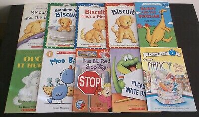 Lot of 10 Step into Reading - I Can Read! Levels 1 Softcover Books - EUC!