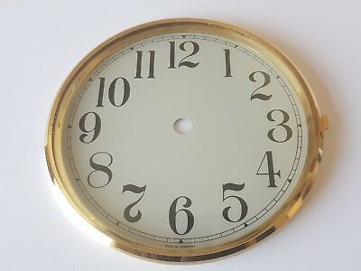 Brass Clock Bezel and Glass 160mm Arabic Dial German Made Quality