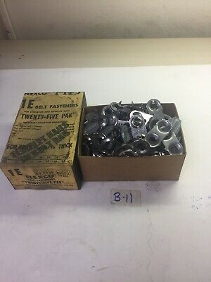 Flexco Steel Belt Fasteners 1 E 104 Plates & 50 Clips  Fast Shipping!