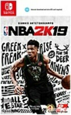 710425550515 2K NBA 2K19 - Sports Game - Nintendo Switch