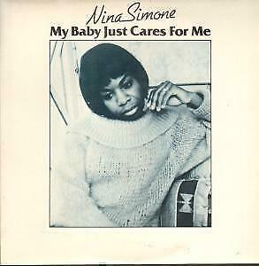 "NINA SIMONE My Baby Just Cares For Me 10"" VINYL 4 Track B/w I Loves You Porgy,"