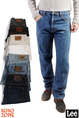 LEE DENIM JEANS VINTAGE STRAIGHT LEG GRADE A 28 in. to 42 in.