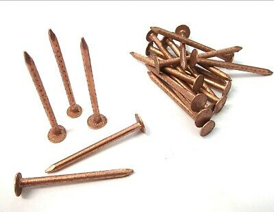 Copper clout nails. 40mm x 2.65mm. Roofing. Slate. Tree stump killer. Shed. Roof